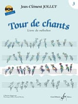 Tour de Chants Volume 3 Jean-Clément Jollet Partition laflutedepan.com