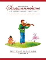 Early Start On The Viola Volume 1 egon sassmannshaus laflutedepan.com