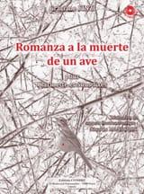 Romanza A la Muerte de un Ave Graciane Finzi laflutedepan.com