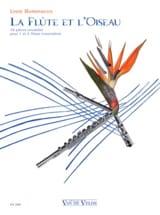 La Flûte et l' Oiseau Lydie Barrancos Partition laflutedepan.com