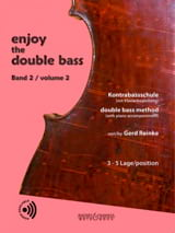 Gerd Reinke - Enjoy The Double Bass Vol.2 - Partition - di-arezzo.fr
