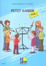 Petit Cahier de Révision Volume 1 SICILIANO Partition laflutedepan.com