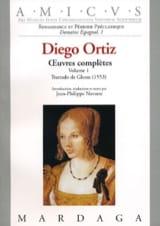 Diego Ortiz - Trattado of Glosas 1553 - Sheet Music - di-arezzo.com