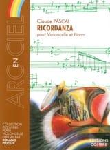 Claude Pascal - Ricordanza - Partition - di-arezzo.fr