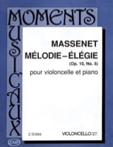Jules Massenet - Elegy - Sheet Music - di-arezzo.co.uk