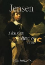 Niels Peter Jensen - 6 Leichte Brillante Flötenduos Op.16 Vol.2 - Partition - di-arezzo.fr