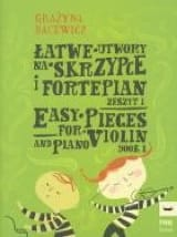 Easy Pieces Volume 1 Grazyna Bacewicz Partition laflutedepan.com