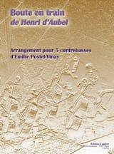 Boute En Train Aubel Henri D' Partition Contrebasse - laflutedepan.com