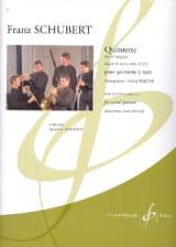 SCHUBERT - Quintette en Sib Majeur - Partition - di-arezzo.fr