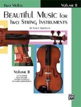 Samuel Applebaum - Beautiful Music For Two Strings Instr. - Viola Book 2 - Partition - di-arezzo.fr