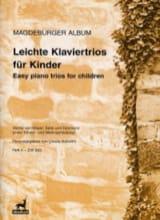 - Leichte Klaviertrios Für Kinder - Book 2 - Partition - di-arezzo.fr