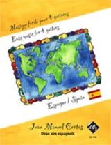 Juan Manuel Cortés - Deux Airs Espagnols - Partition - di-arezzo.fr