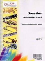 Sonatine Jean-Philippe Ichard Partition Contrebasse - laflutedepan.com