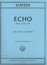 HAYDN - Echo Hob.2 No. 39 - Sheet Music - di-arezzo.co.uk