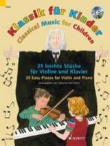 Klassik für Kinder - Violon et Piano Partition laflutedepan.com