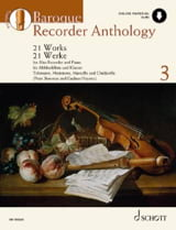 - Baroque Recorder Anthology Volume 3 - Partition - di-arezzo.fr