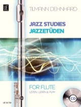 Jazz Studies For Flute Tilmann Dehnhard Partition laflutedepan.com