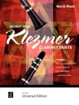 Klezmer Clarinet Duets Helmut Hödl Partition laflutedepan.com