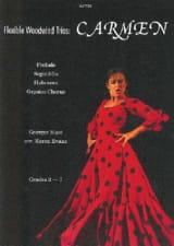 Carmen extraits Georges Bizet Partition Trios - laflutedepan.com