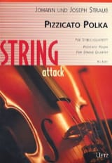 Johann (Fils) Strauss - Pizzicato Polka - Partition - di-arezzo.fr