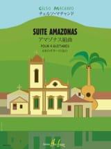 Suite Amazonas Celso Machado Partition Guitare - laflutedepan.com