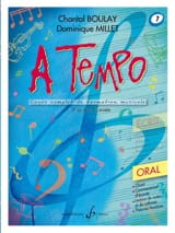 A Tempo Volume 7 - Oral BOULAY - MILLET Partition laflutedepan.com