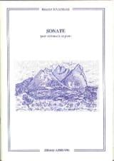 Sonate Pour Violoncelle et Piano Maurice Journeau laflutedepan.com