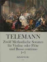 12 Methodische Sonaten Für Flöte Und Bc Band 1 laflutedepan.com