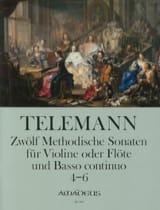 12 Methodische Sonaten Für Flöte Und Bc Band 2 laflutedepan.com