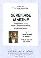 Claude-Henry Joubert - Marine Serenade - Clarinet - Sheet Music - di-arezzo.co.uk