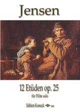 12 Etudes Op. 25 Niels Peter Jensen Partition laflutedepan.com