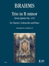 BRAHMS - Trio in Si Minor from the Op. 115 Quintet - Sheet Music - di-arezzo.co.uk