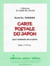 Carte Postale du Japon - Clarinette et piano laflutedepan.com