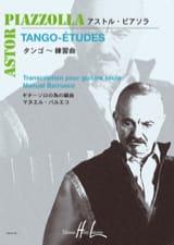 Tango-Etudes Astor Piazzolla Partition Guitare - laflutedepan.com