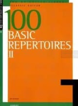 100 Basic Repertoires Volume 2 Partition Guitare - laflutedepan.com
