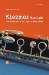 Klezmer Musicale Maria-Anna Brucker Partition laflutedepan.com