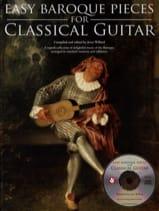 Easy Baroque Pieces For Classical Guitar Partition laflutedepan.com