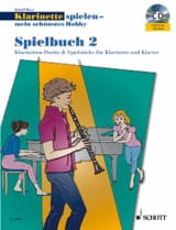 Rudolf Mauz - Klarinette Spielen - Mein Schönstes Hobby - Spielbuch 2 - Partitura - di-arezzo.es
