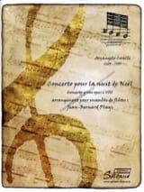 Arcangelo Corelli - Concerto For Christmas Night Flute Set - Sheet Music - di-arezzo.co.uk