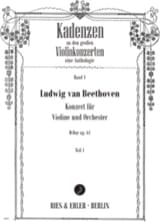 Cadences Concerto en Ré Maj. Op.61 de Beethoven laflutedepan.com