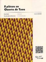 8 Pièces en Quarts de Tons Laurent Flechier Partition laflutedepan.com