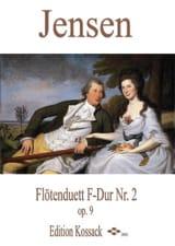 Niels Peter Jensen - Duo Pour Flûtes Op.9 N°2 en Fa Majeur - Partition - di-arezzo.fr