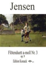 Niels Peter Jensen - Duo Pour Flûtes Op.9 N°3 en la Mineur - Partition - di-arezzo.fr