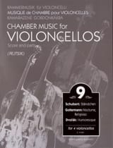 Arpad Pejtsik - Chamber Music For Violoncellos - Volume 9 - Score Parts - Sheet Music - di-arezzo.co.uk