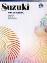 suzuki - Violin School Volume 5 édition internationale avec CD - Partition - di-arezzo.fr