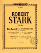 Robert Stark - The Kunst Der Transposition Teil 2 - Partitura - di-arezzo.it