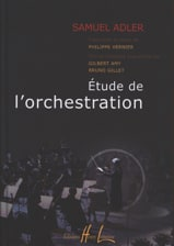 Etude de l'Orchestration Samuel Adler Partition laflutedepan.com