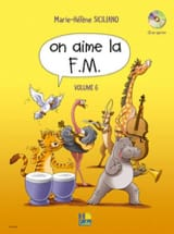On Aime la FM - Volume 6 - SICILIANO - Partition - laflutedepan.com