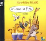 CD - On Aime la FM Volume 6 - SICILIANO - Partition - laflutedepan.com
