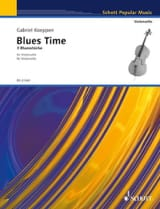 Blues Time Gabriel Koeppen Partition Violoncelle - laflutedepan.com